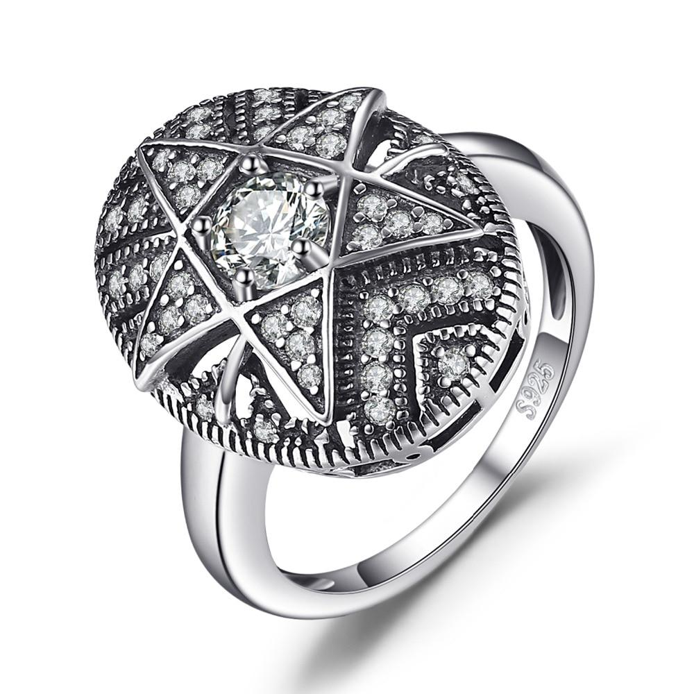 Jewelrypalace Star 1 0ct Cubic Zirconia Filigree Ring 925 Sterling