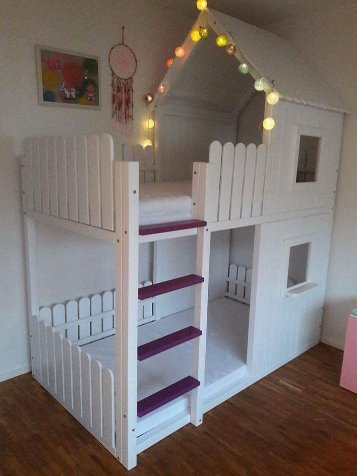 diy playhouse bed Kinderschlafzimmer, Kinder zimmer