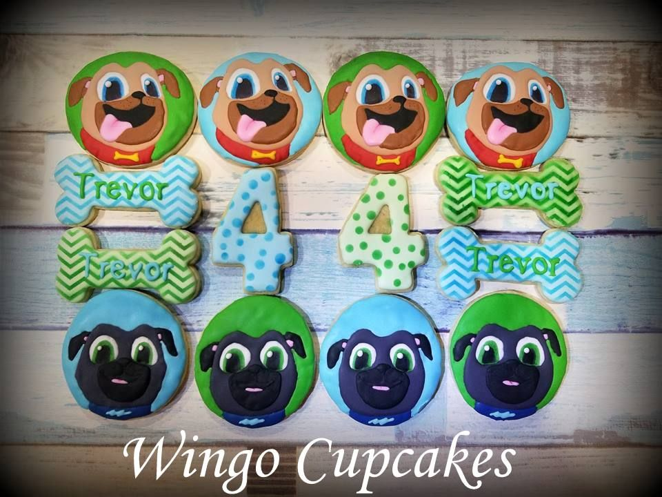 Puppy Dog Pals Sugar Cookies Sugar Cookies Decorated 2nd