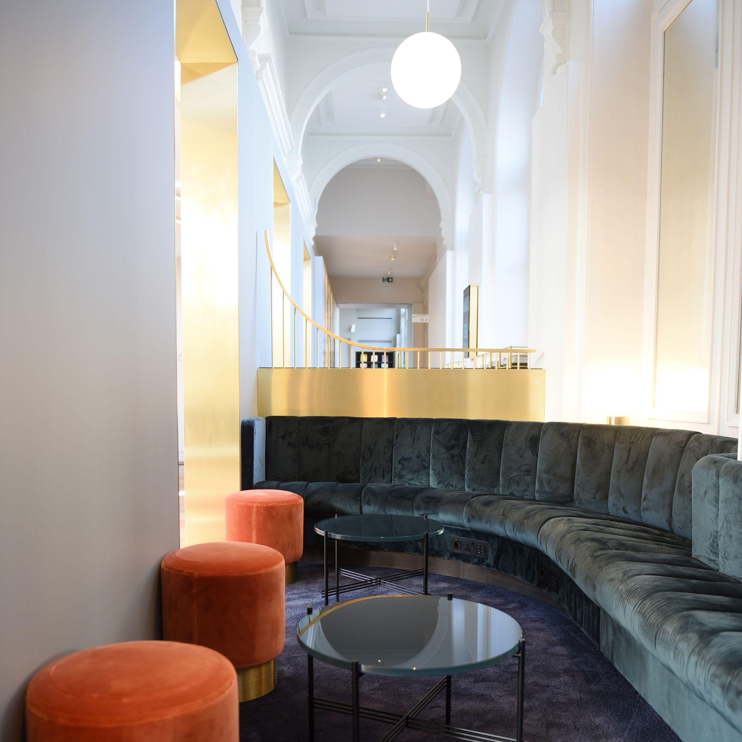 Softroom has designed a Eurostar lounge for business-class ...