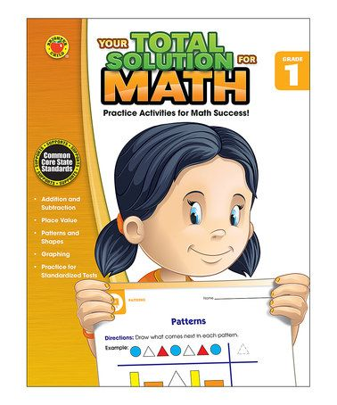 Another great find on #zulily! Grade 1 Your Total Solution for Math Workbook #zulilyfinds