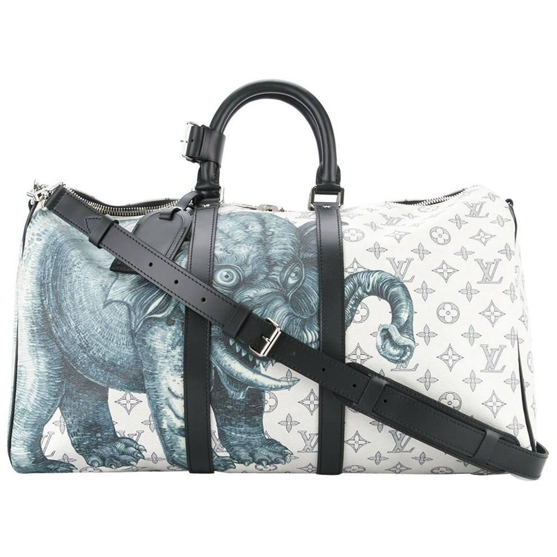 c4f1359ce44 Louis Vuitton NEW Limited Edition Men s Travel Weekend Shoulder Tote Duffle  Bag