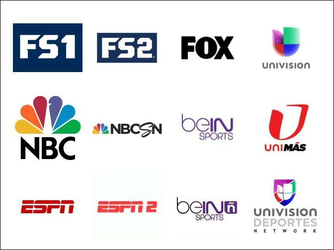 Sling Tv Now Offers Soccer Fans Nbcsn Fs1 Fs2 Espn Espn2 Bein Sports And Univision World Soccer Talk Soccer Fans Sports Channel Espn