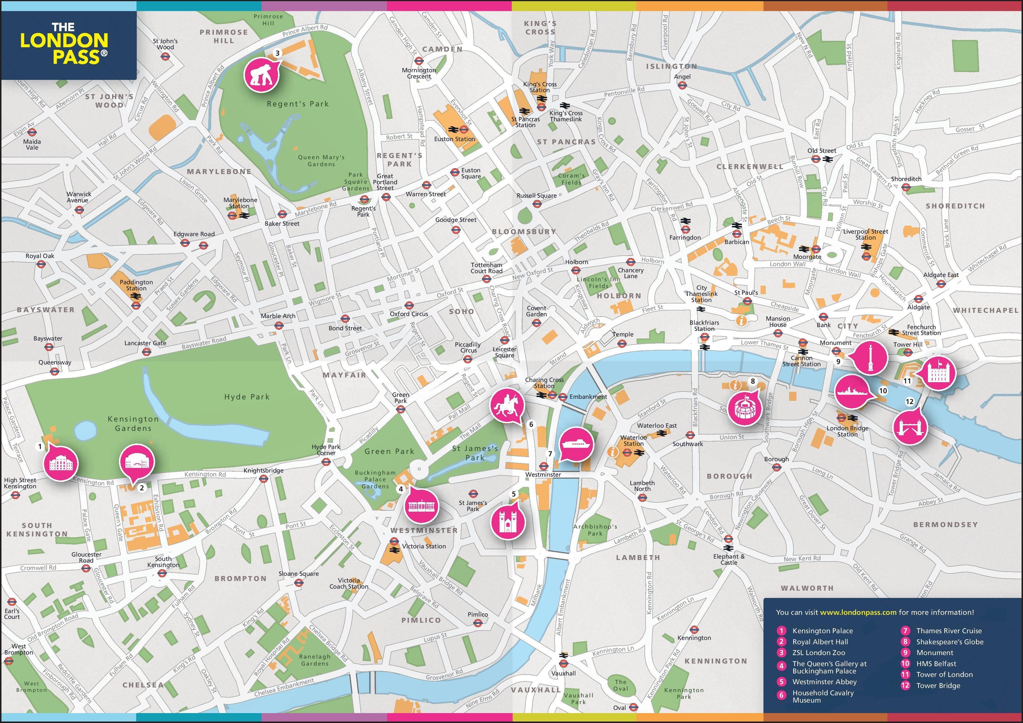 Carte De Londres A Telecharger Gratuitement En Pdf Pour Imprimer Plan Du Metro De Londres A Telecharger Carte Londres Cartes Plan De Metro