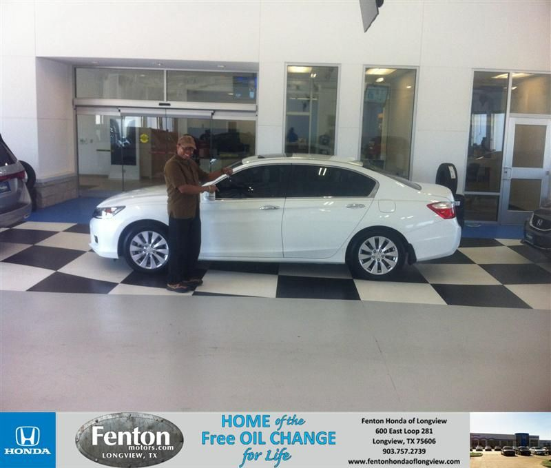 Congratulations to Y D Hutchings on your Honda Accord