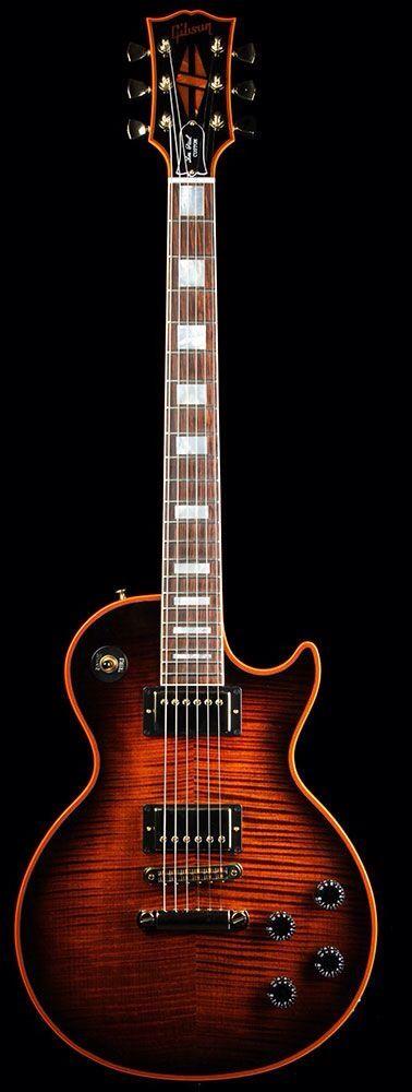 Orange sunburst Gibson
