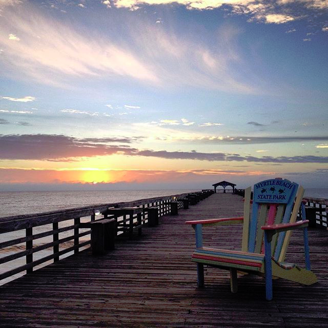 Myrtle Beach State Park Pier, Myrtle Beach, South Carolina