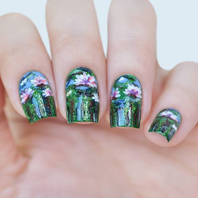 Image result for trio sand nail art