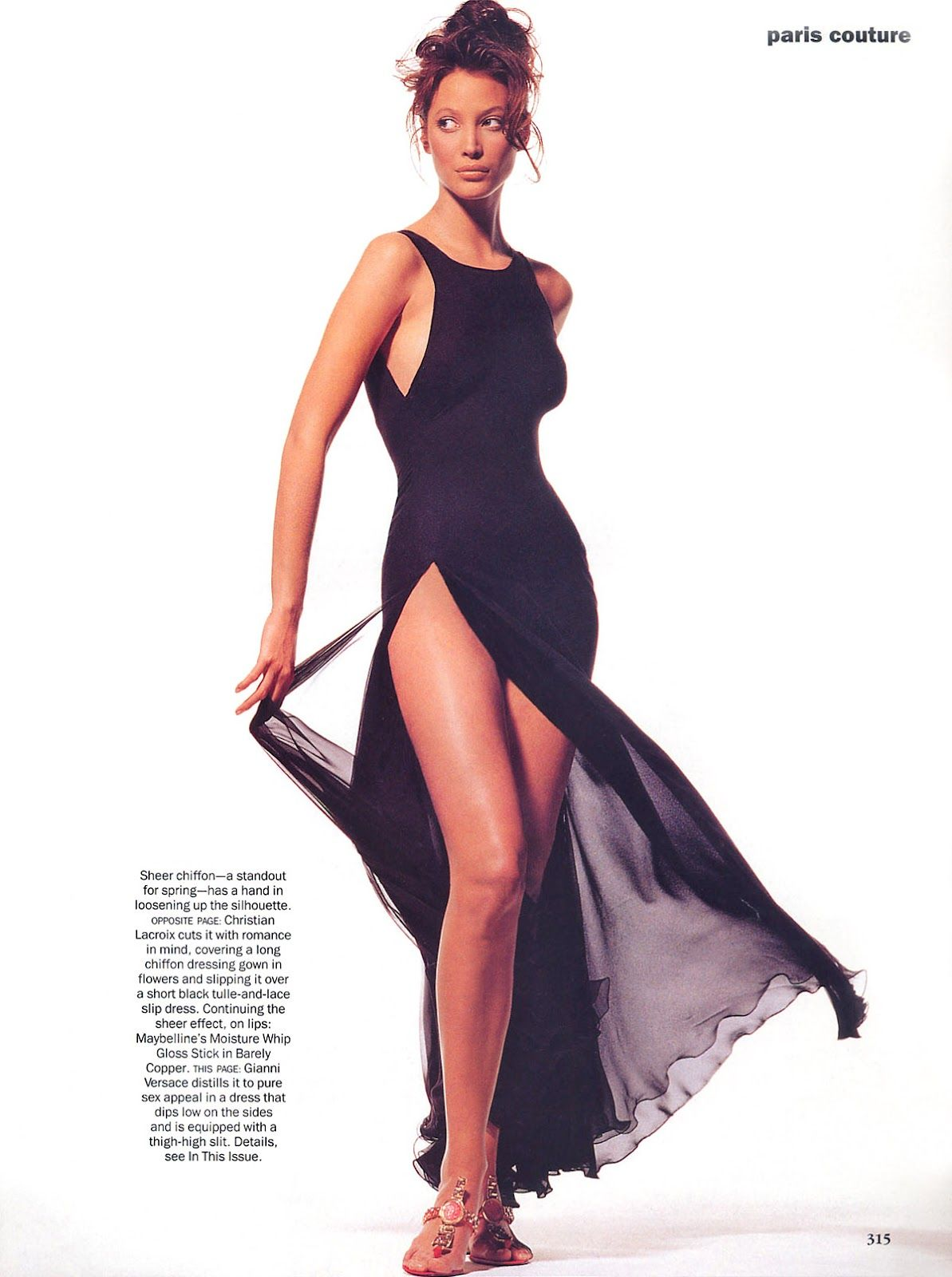 Christy Turlington | Photography by Irving Penn | For Vogue Magazine US | March 1993