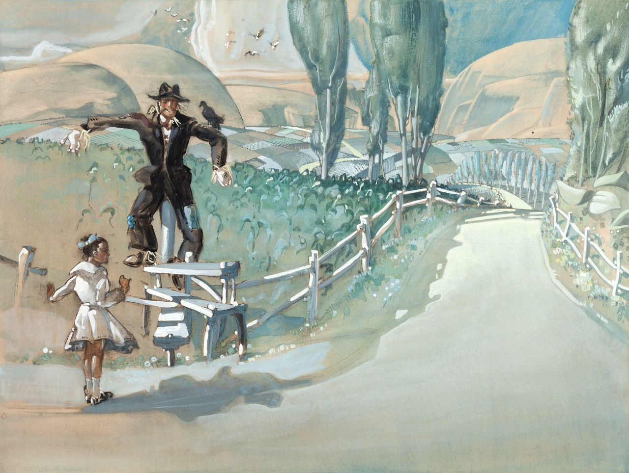 The Wizard of Oz (1939) concept art by Jack Martin... | Raiders of ...