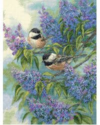 Chickadees & Lilacs kit