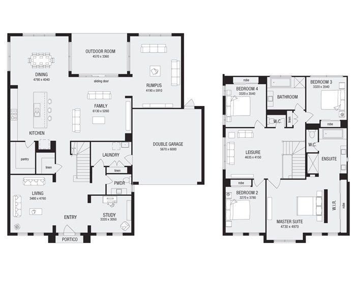 Franklin 40, New Home Floor Plans, Interactive House Plans
