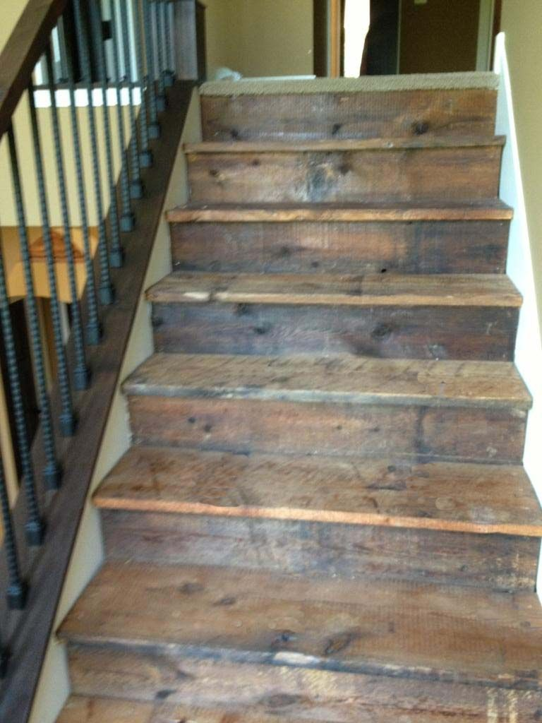 Stair treads and risers google search ideas for the - Interior stair treads and risers ...