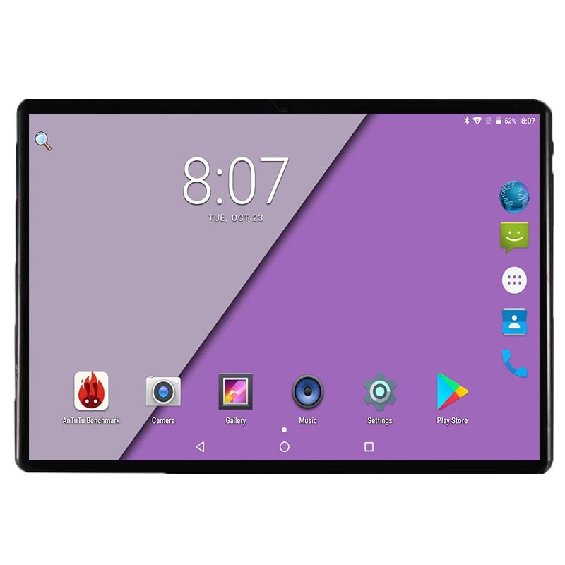 2019 Version 10 Inch Tablet Android 8 0 Octa Core 4gb Ram 64gb Rom 8 Cores 1280 800 Ips 2 5d Glass Screen Gps Tablets 10 1 Gift Tablet Tablet 10 10 Inch Tablet