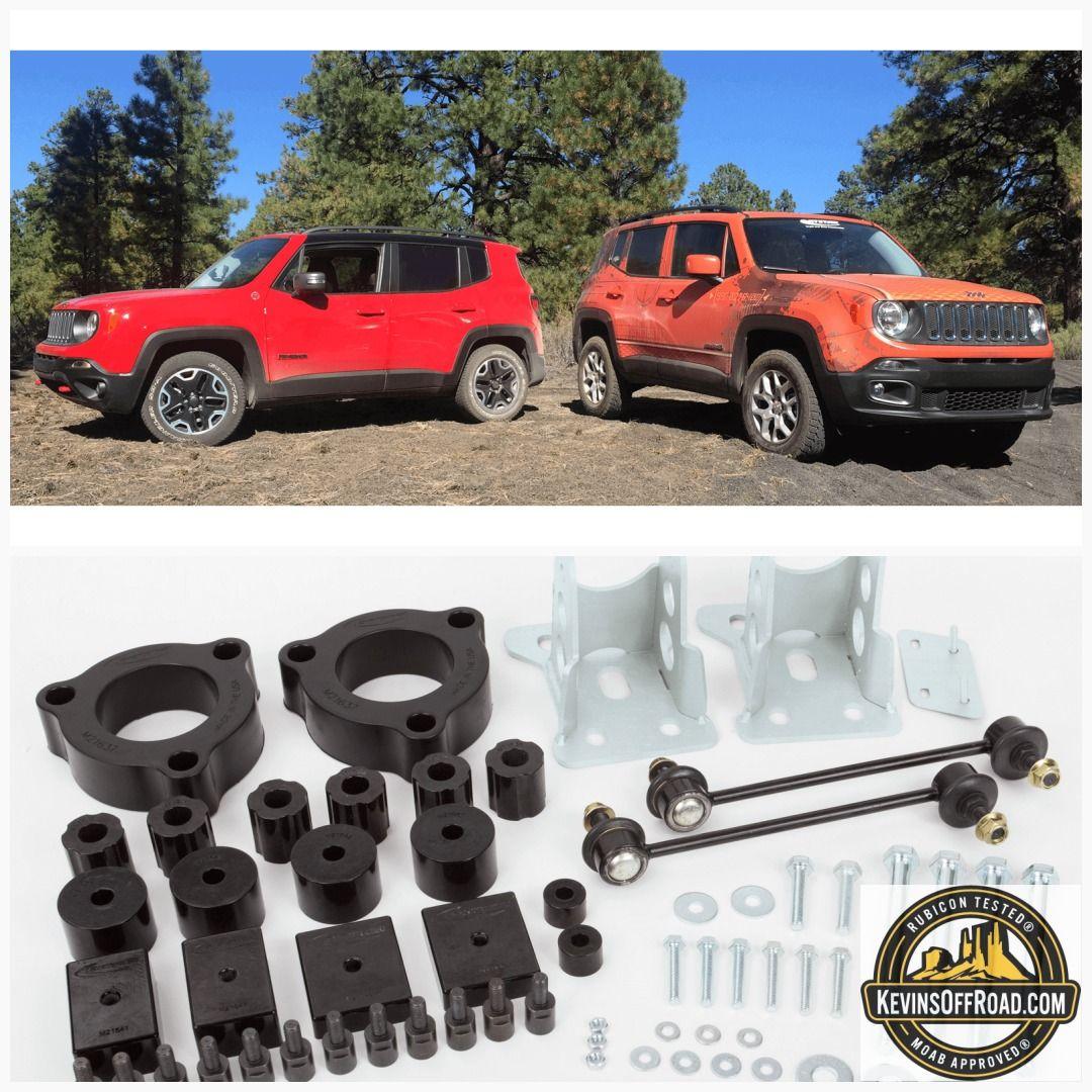 Jeep Renegade Lift Kit 1 5 Series Jeep Renegade Jeep Lift Kits
