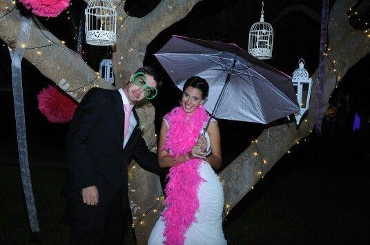 Photocall en bodas