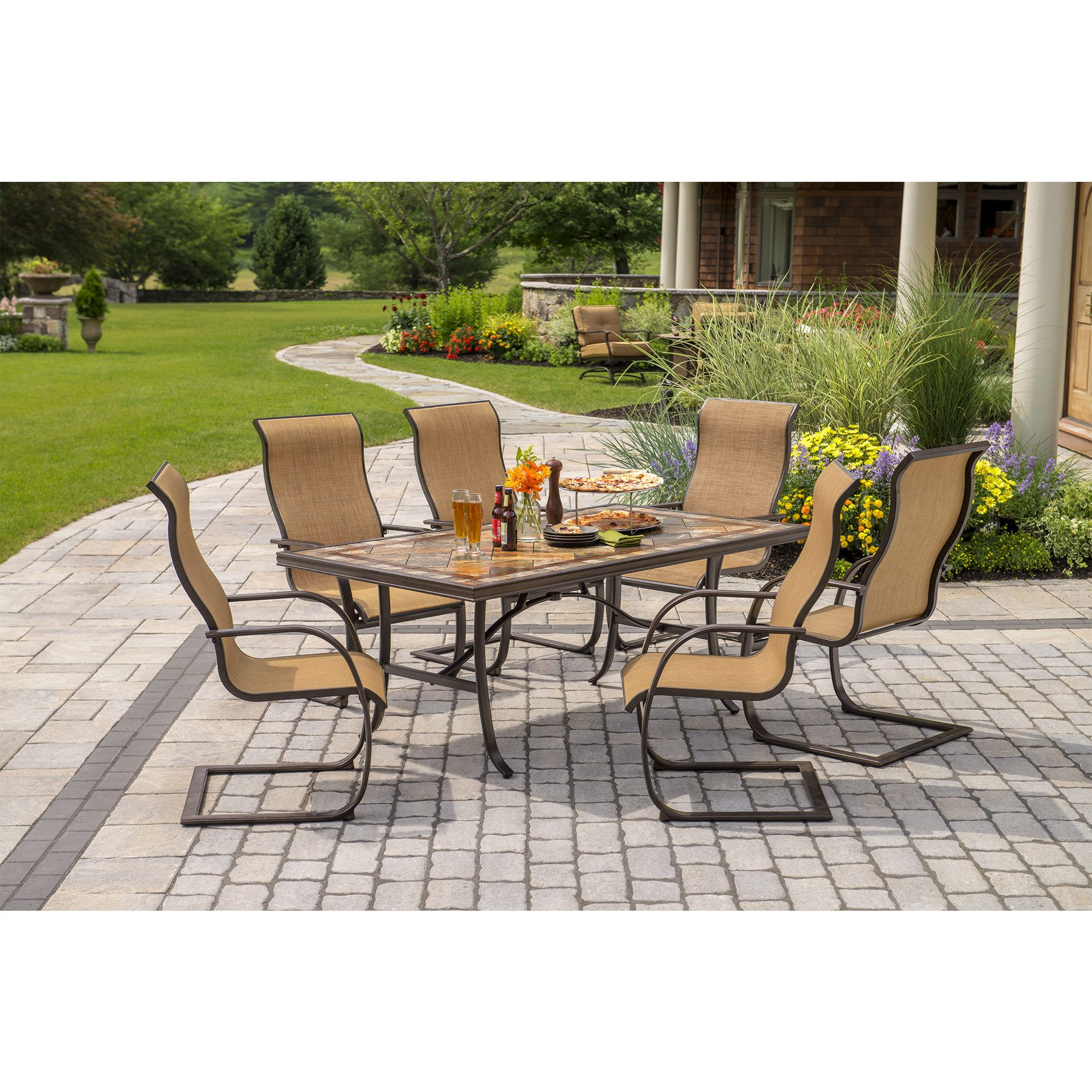 Berkley Jensen Copley 7 Piece Dining Set