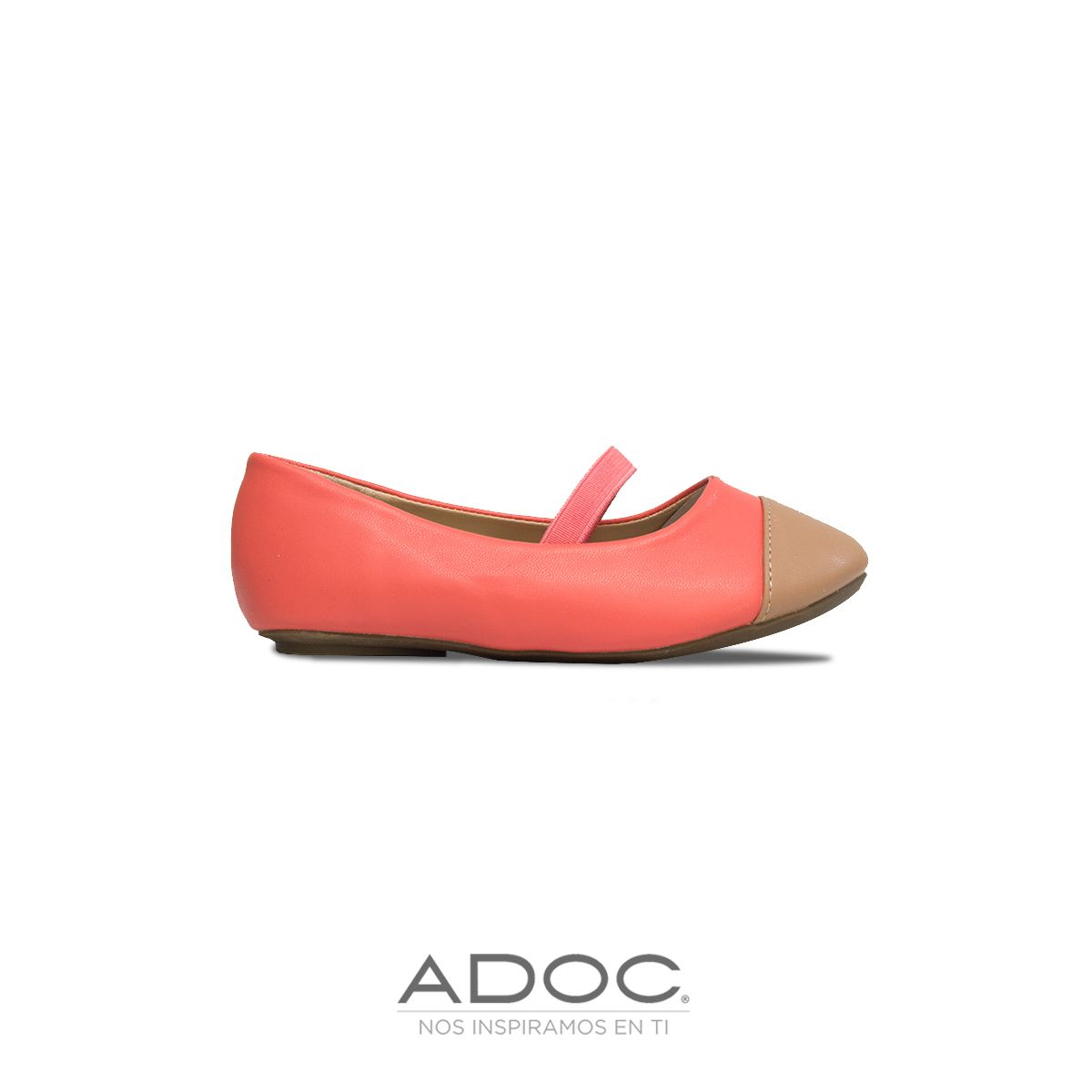 Zapatos Maryi de ADOC disponibles en color beige y caramel