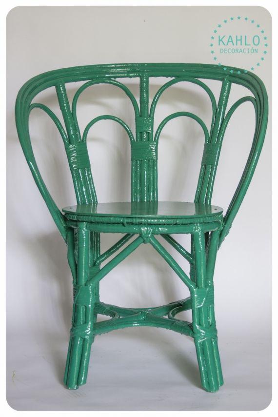 Sillas de playa recicladas - Vintage y Reciclado - Casa - Sillas - sillas de playa