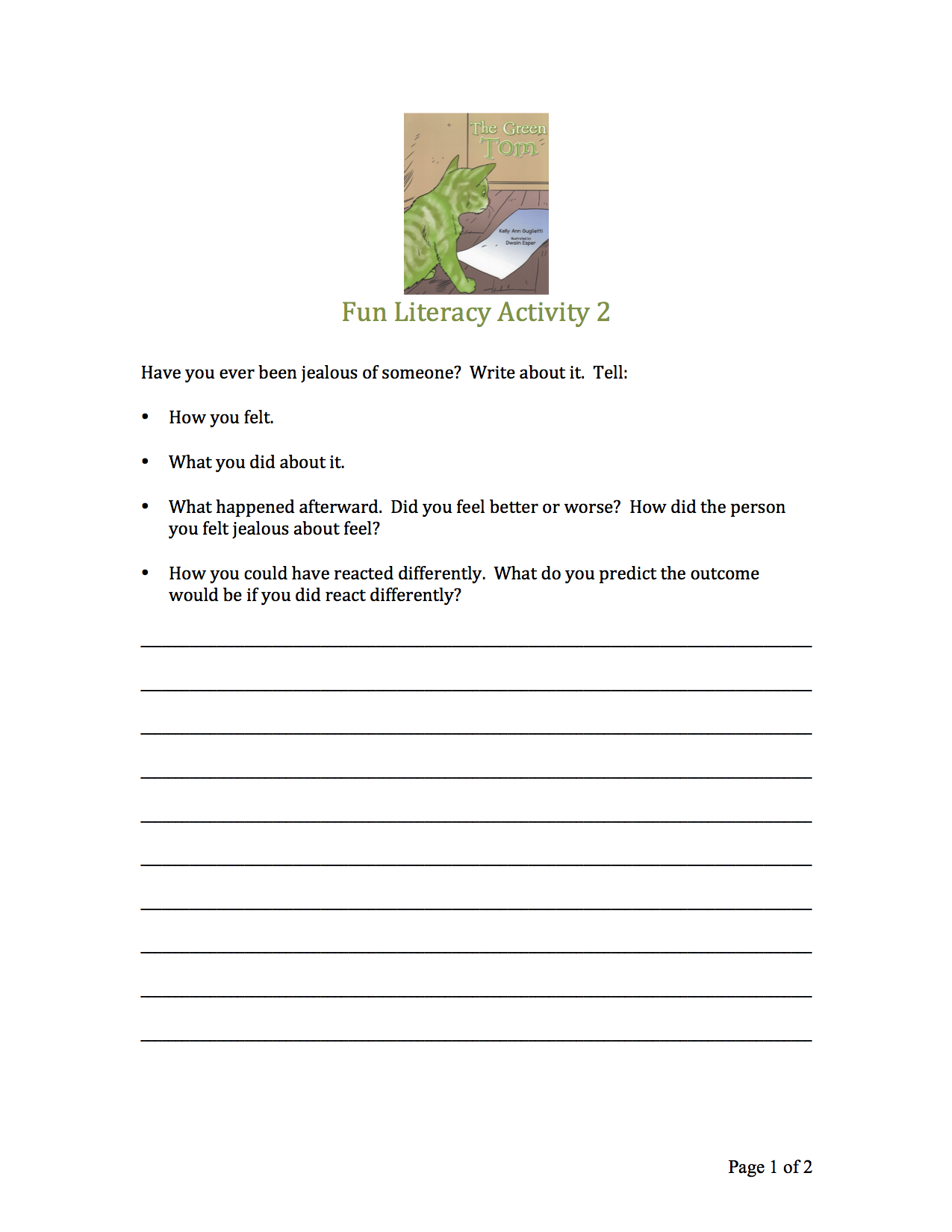This Is A Great Worksheet To Help Students Explore A Time