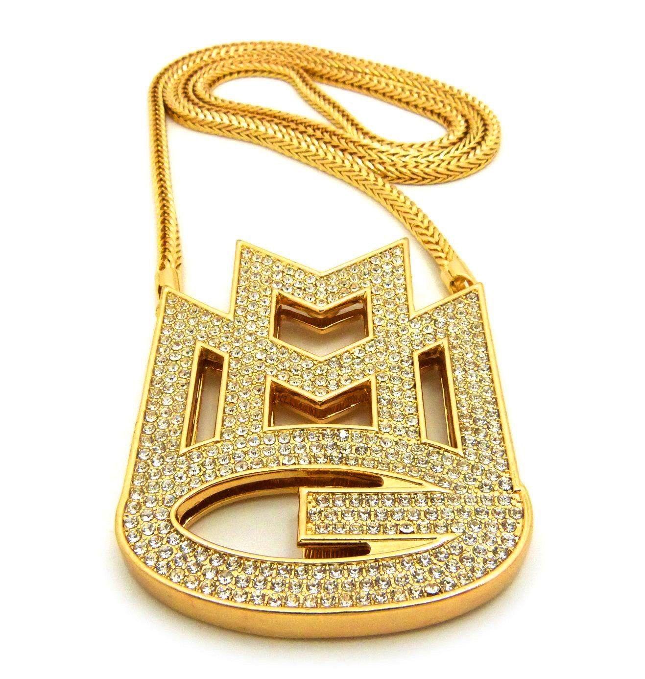 14k yellow gold mmg chain pendant rick ross rick ross 14k yellow gold mmg chain pendant rick ross aloadofball Gallery