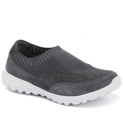 Casual slip on shoes, Leather brogues