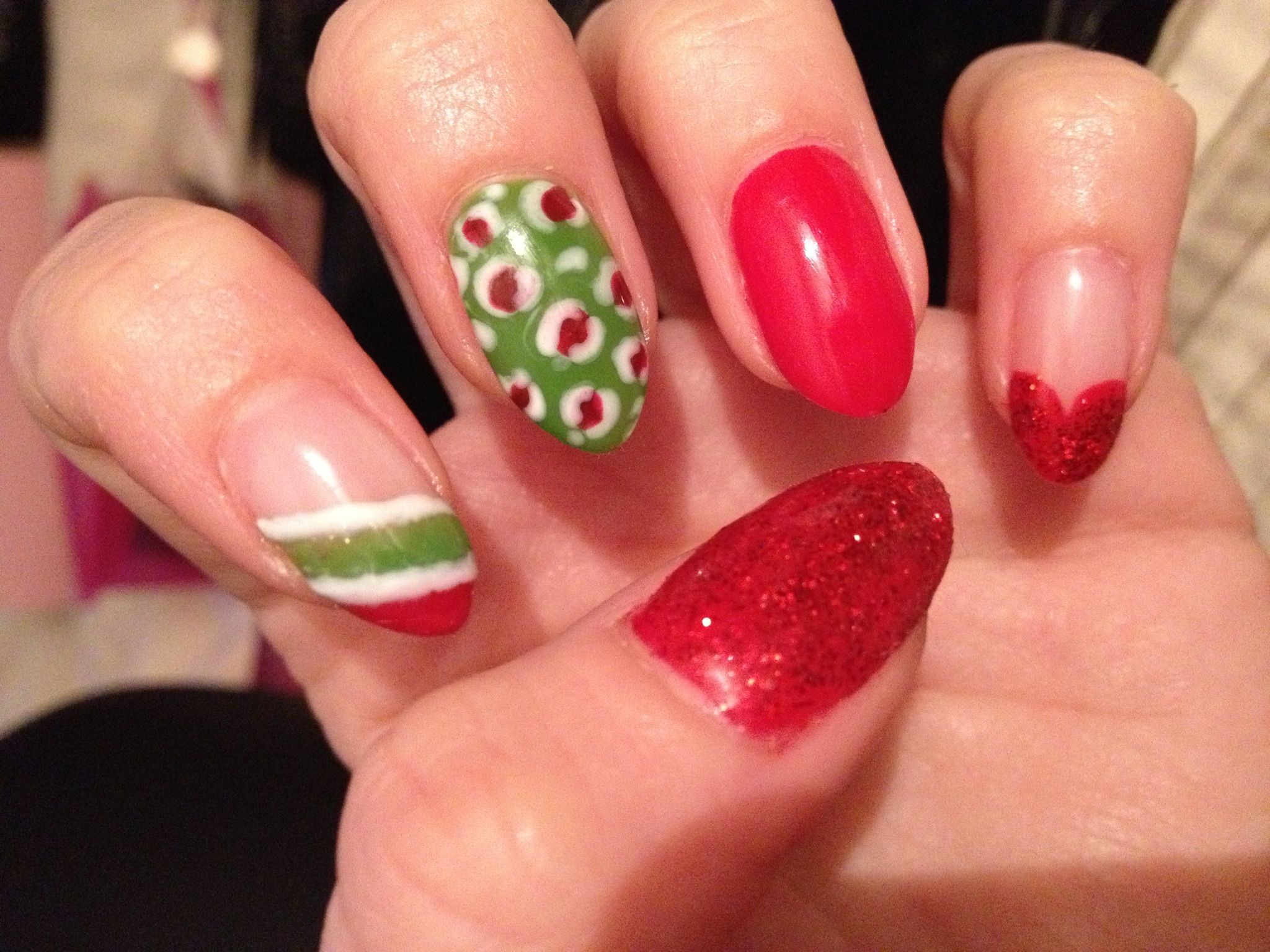 Xmasy nails