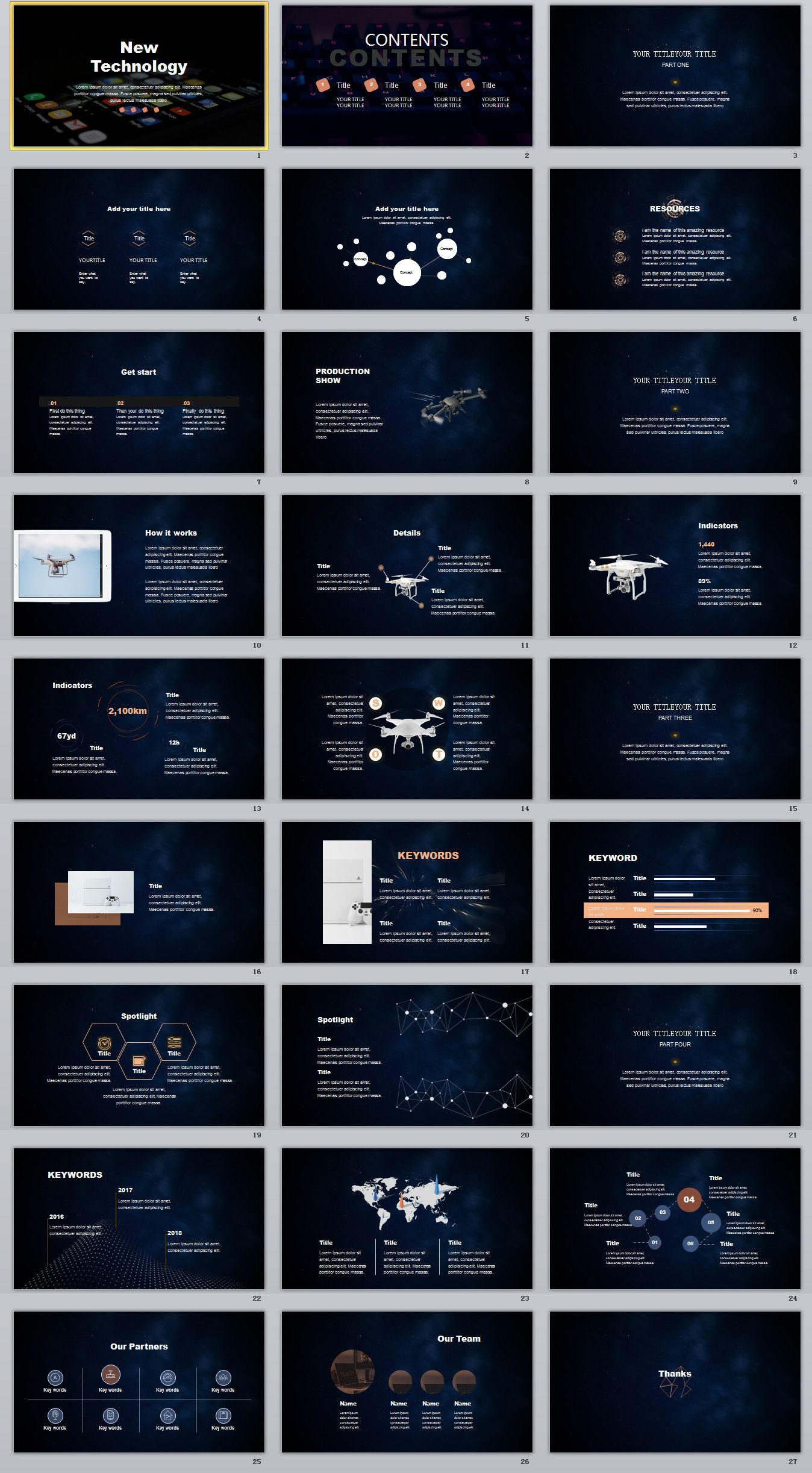 27 best technology creative powerpoint template powerpoint