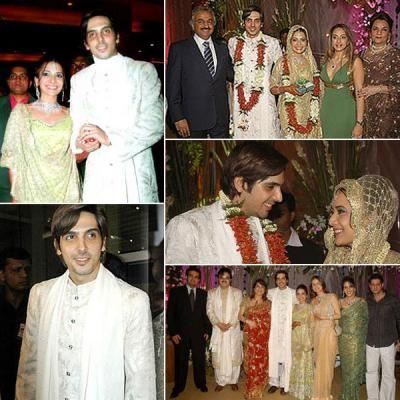 Zayed Khan Married His Girlfriend Malaika Parekh Bollywood Wedding Celebrity Weddings Bollywood Celebrities