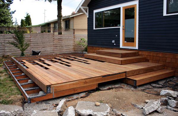 Chezerbey Deck Design Low Deck Designs Building A Deck