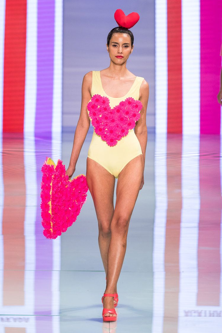 Agatha Ruiz De La Prada heated things up at Miami Fashion Week ...