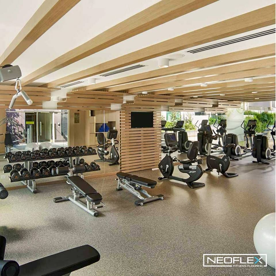 Neoflex 700 Series Fitness Flooring In The Fit Centre Of Amari Hotels And Resorts New 4 Star Hotel In Johor Bah Gym Flooring Rubber Gym Flooring Floor Workouts