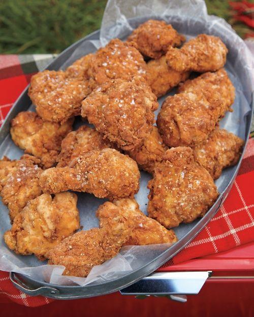Salted Buttermilk Fried Chicken Recipe Chicken Recipes Food Fried Chicken