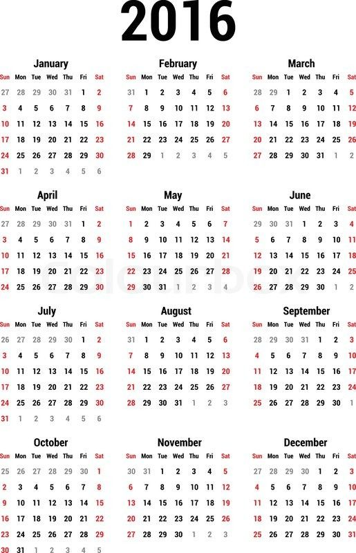 2016 Calendar USA - This Calendar Portal provides you Free - calendar template pdf