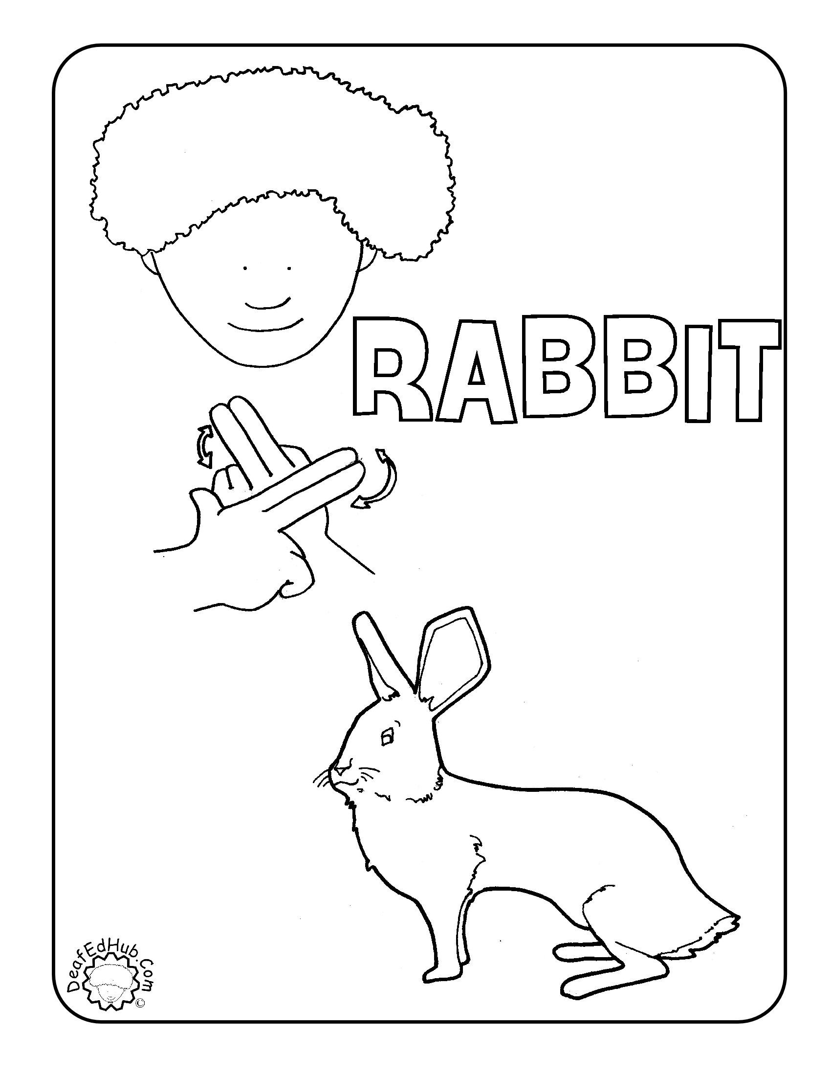 Slobbery image throughout asl animal signs printable