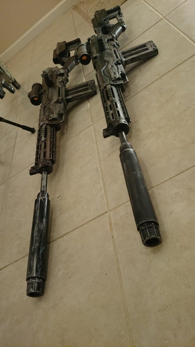 Introduction: District 9 Inspired Nerf Mod