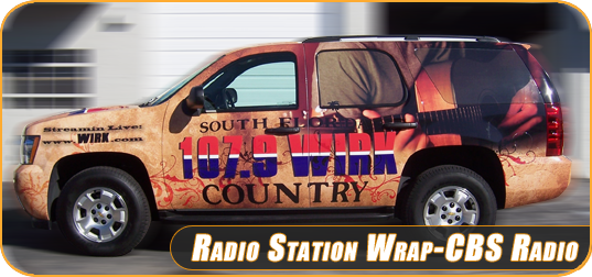 Chevy Tahoe Vinyl Car Wrap In West Palm Beach Florida For 107 9 Wirk Radio Station Vehicle