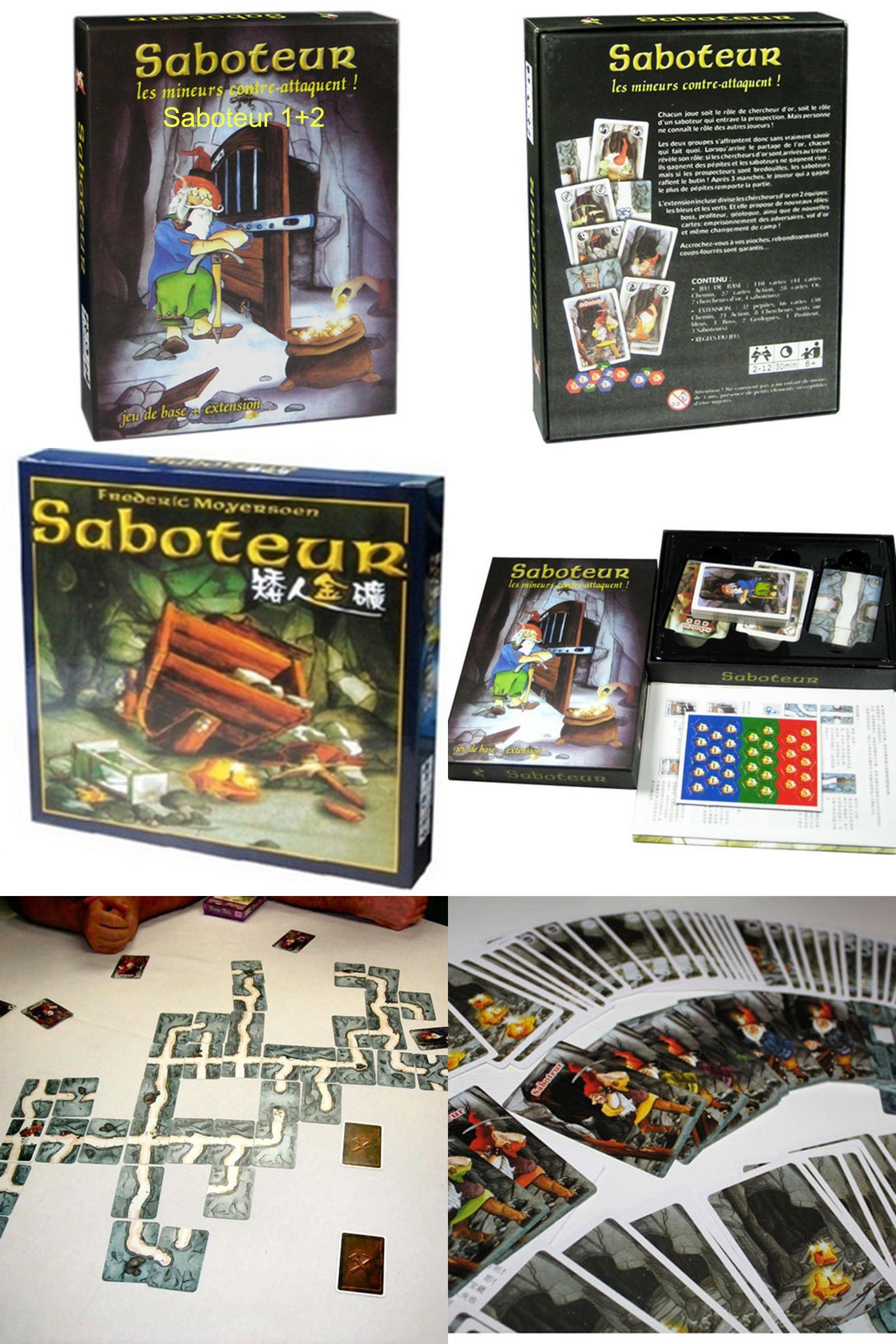 Visit To Buy Saboteur Board Game 12 Versionsaboteur1 Version