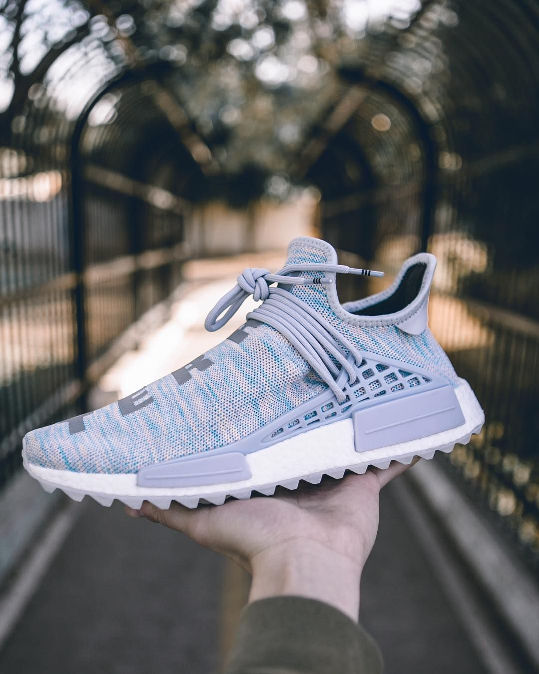 newest collection 5f307 da83d BBC x Pharrell x adidas NMD Human Race Trail