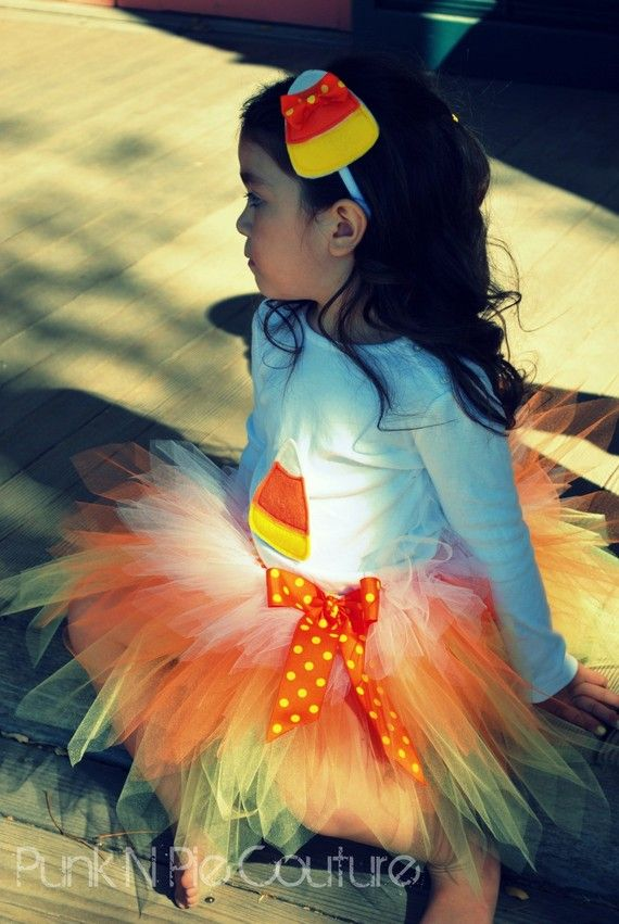 Perfect Candy Corn costume for a party   wwwsquidoo - halloween tutu ideas