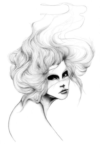 Hair  by Francesca Illustrates