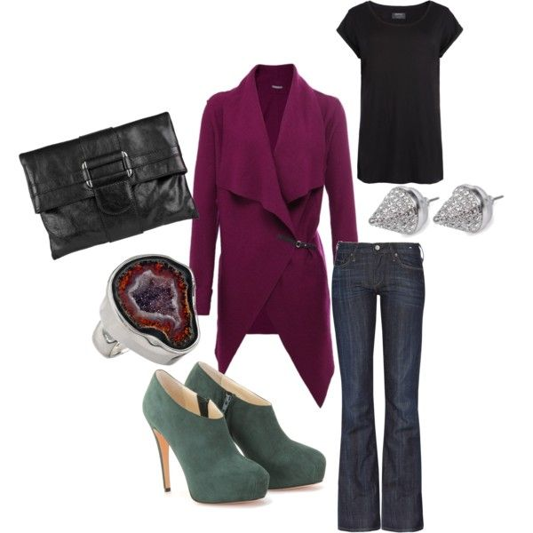 My Casual Chic! i love the sweater and the color combo of the shoes with the sweater