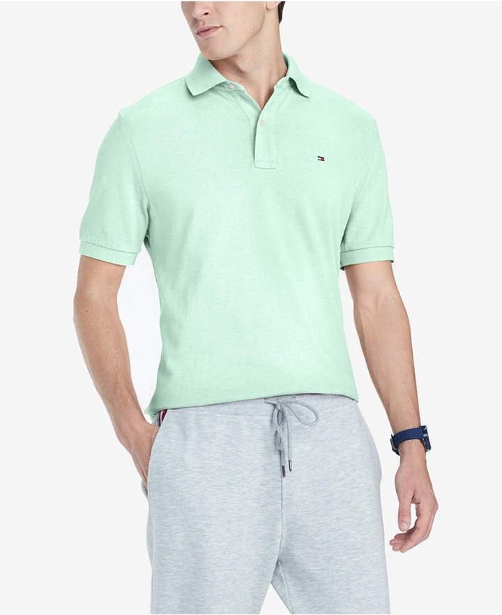 b3c8d5c90 Tommy Hilfiger Men Custom-Fit Ivy Polo in 2019 | Products | Tommy ...