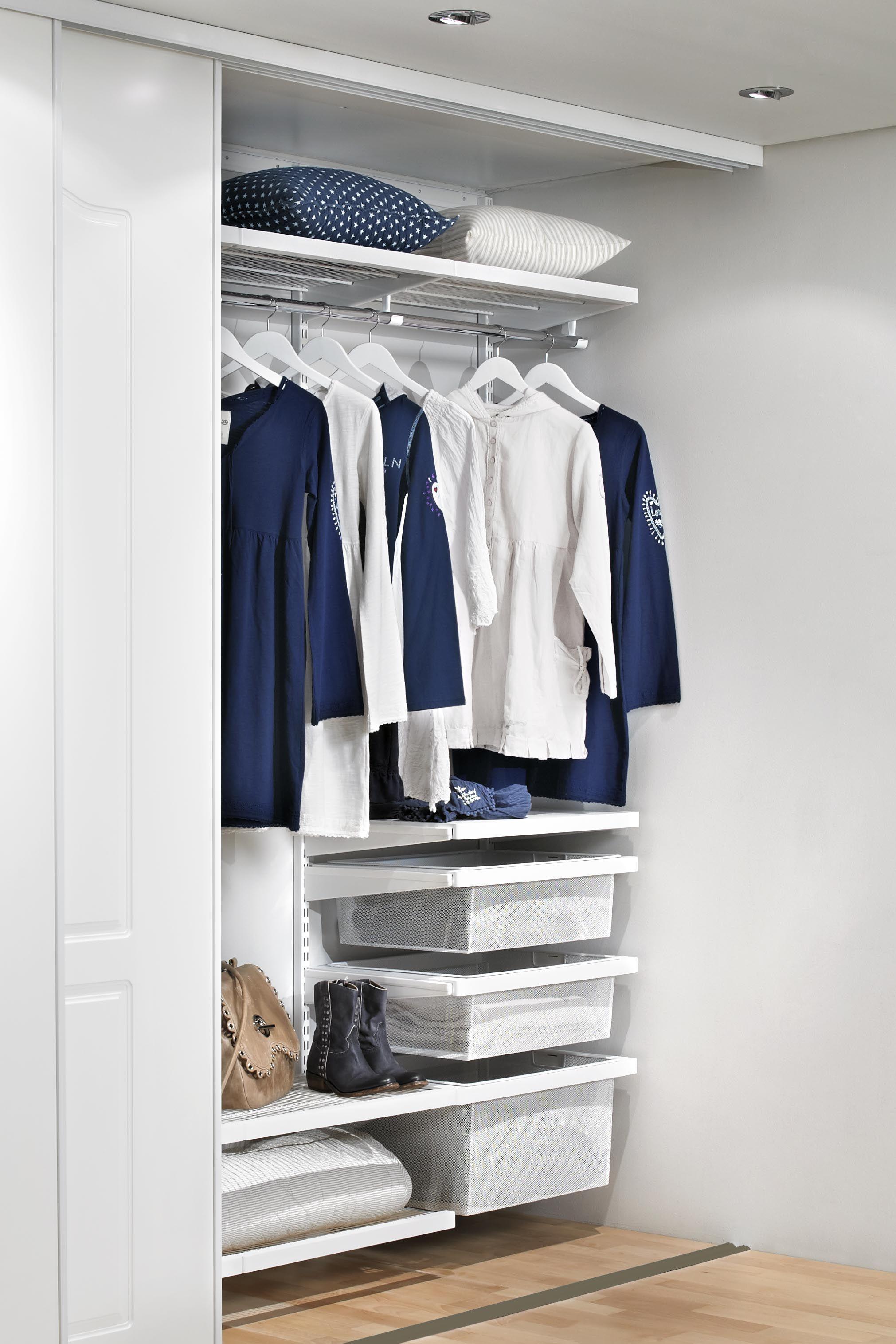 Elfa White Decor Wardobe Wardrobe Organisation White Decor Elfa Closet