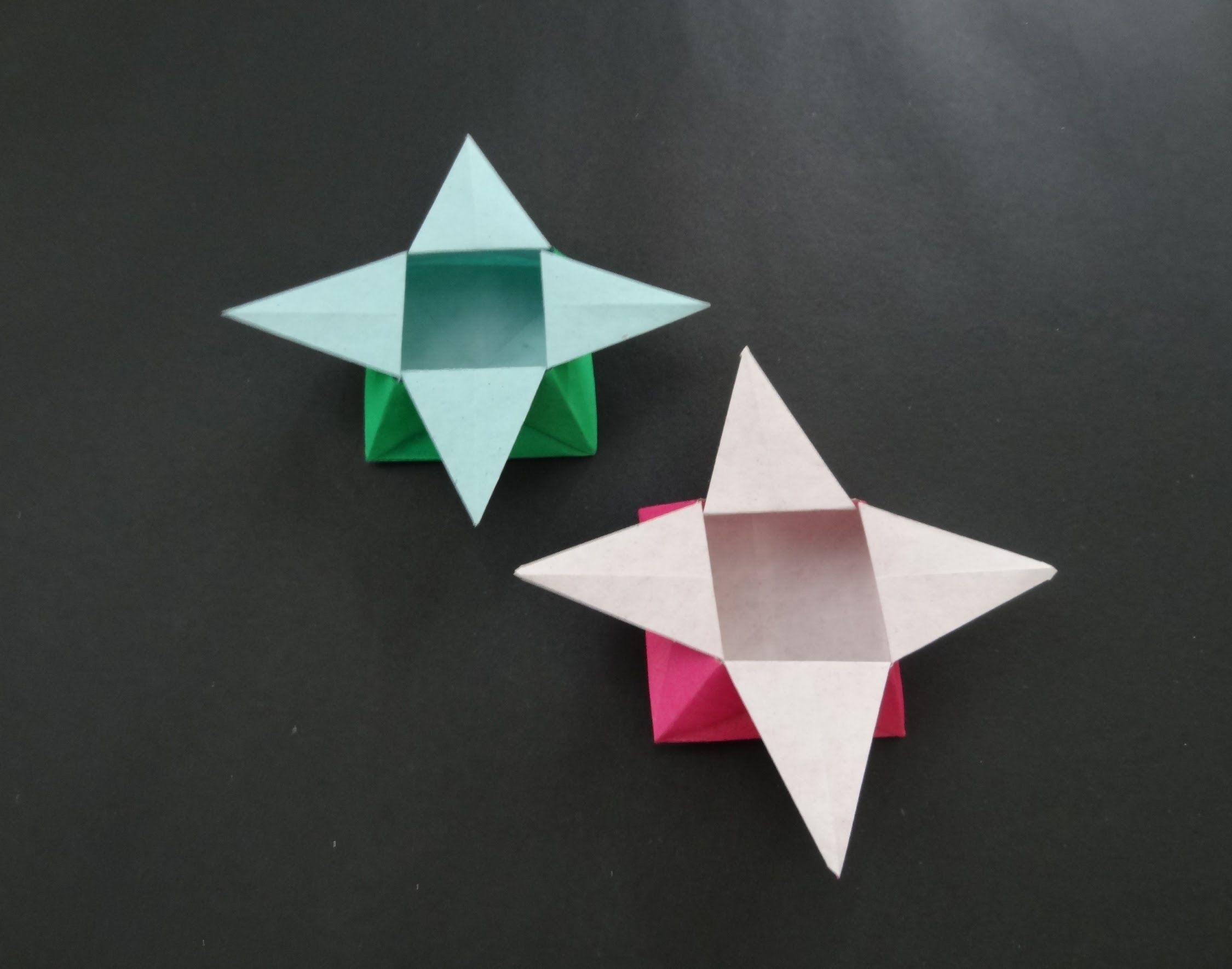 Origami Box Tutorial How To Fold Traditional Origami Star Box