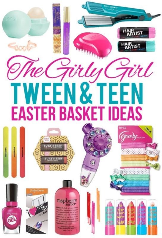 Small gift ideas for tween teen girls pinterest basket ideas easter basket ideas for tween girls ebay negle Gallery
