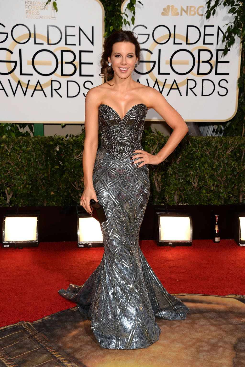 Golden Globes Red Carpet 2014 - Kate Beckinsale