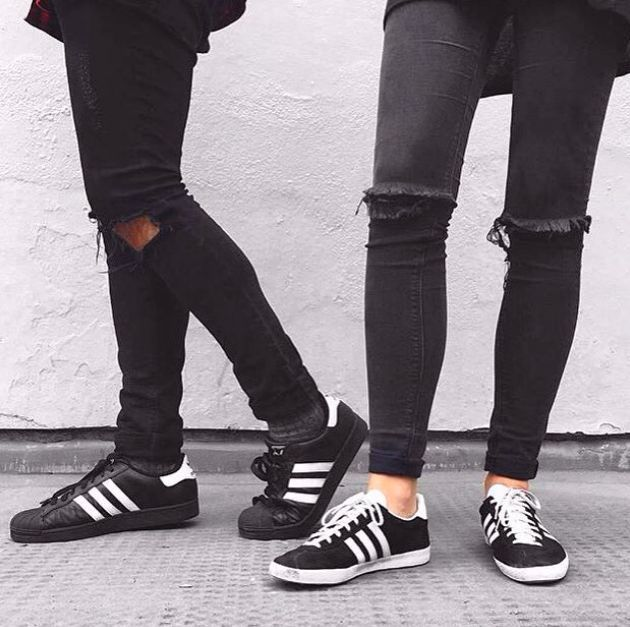 adidas gazelle black asos