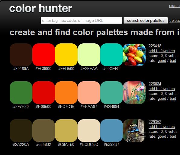 five amazing color palette generators for the home color palette rh pinterest com  amazing color schemes for websites
