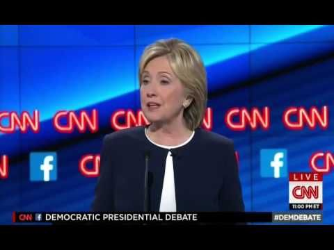FULL Part 17 CNN Democratic Debate Closing Statement Hillary - closing statement